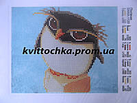"""Схема для вышивки бисером """" Пингвинчик """""""