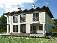 проект двухэтажного дома Hd36