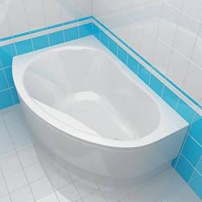 KOLO PROMISE ванна асимметричная 150*100 см, левая/правая с ножками, фото 2