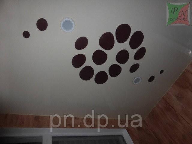 Резные натяжные потолки 6