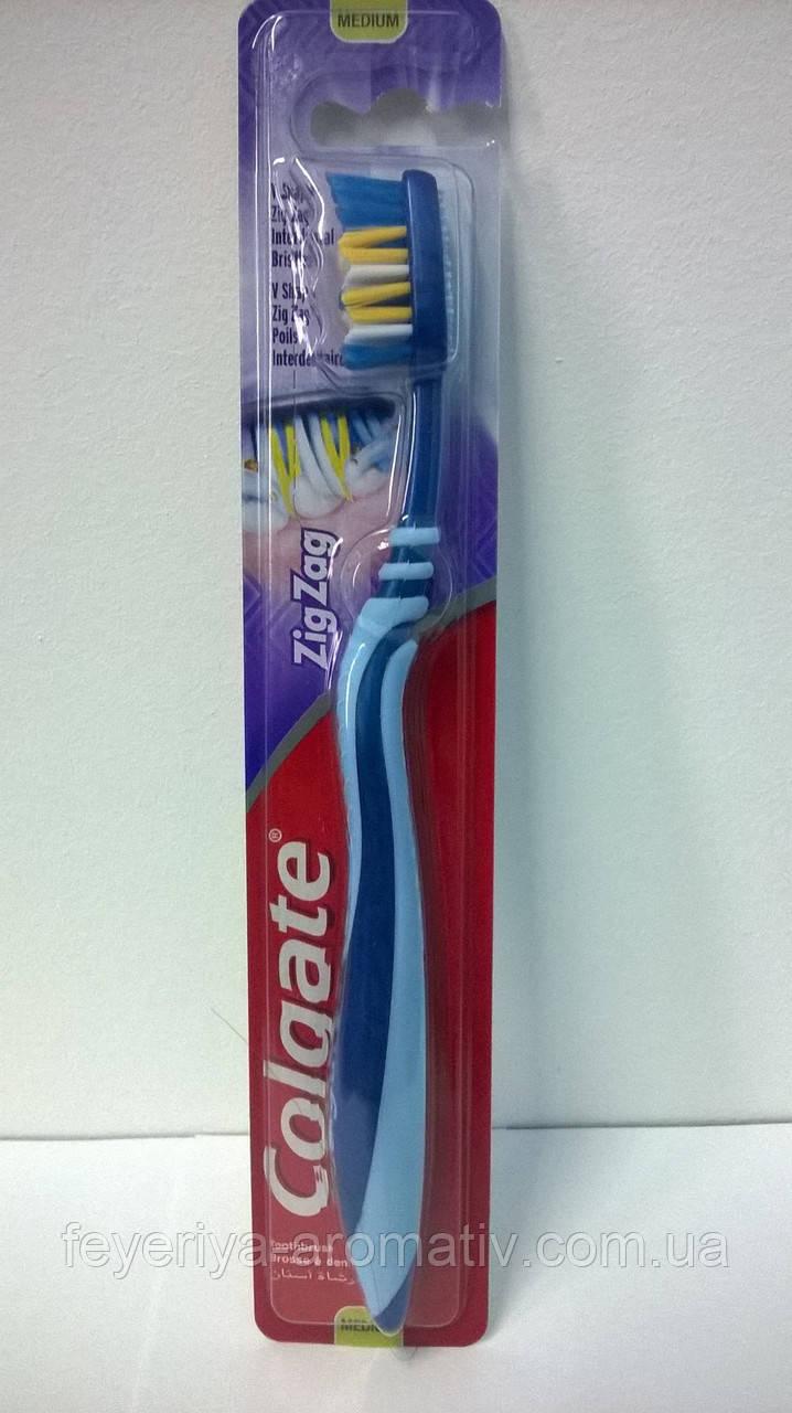 Зубная щетка Colgate ZigZag средней жосткости
