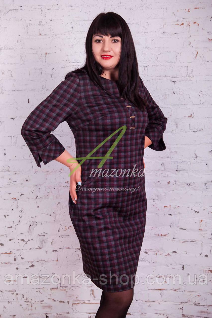 Строгое женское платье от производителя Amazonka - весна 2017 - Код пл-135