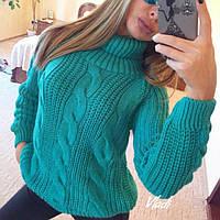 Женский осенний свитер 8810