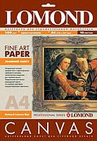 Холст односторонний льняной для струйной печати, А4, 300 г/м.кв, 10 листов