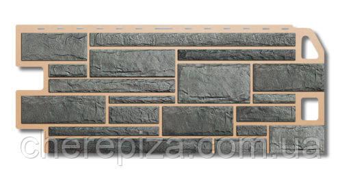 Фасадна панель Камінь сірий
