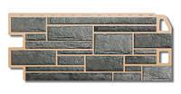 Фасадная панель Камень серый
