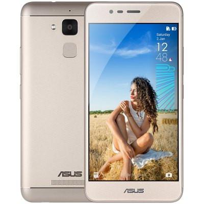 """Смартфон ASUS Zenfone Pegasus 3 (x008) Gold, 3/32Gb, 13/5Мп, 4100mAh, 2sim, экран 5.2""""IPS, GPS, 4G, 4 ядра"""