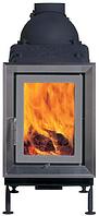 Классическая печь Brunner HKD 4.1 steel frame/double glazing/silver-grey
