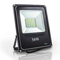 Светодиодный прожектор 30w Standart 6400K 2100Lm  IP65 SMD (LED прожектор уличный), фото 1