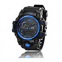 Мужские спортивные часы OHSEN AD1606, водонепроницаемые, будильник
