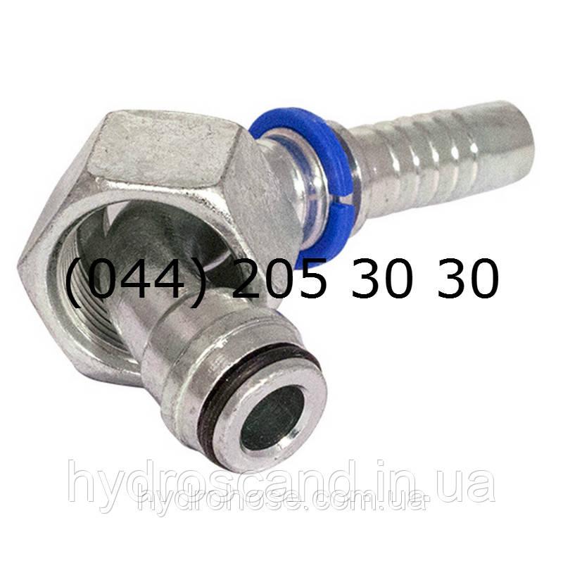 Фитинг угловой DKOL 90°, метрический