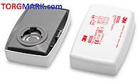 Сменный фильтр (картридж) для респиратора 3M 6035 (2шт.)