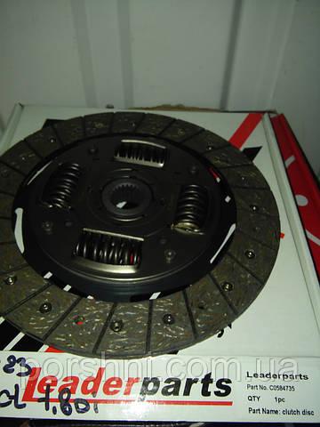 Диски  сцепления Ford  Connect  1.8 DI  TDCI  2002 > 235 x 23  LEADERPARTS C0584735