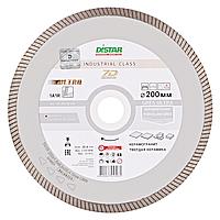 Алмазный круг турбо по керамограниту Distar 200мм 25,4мм Gres Ultra