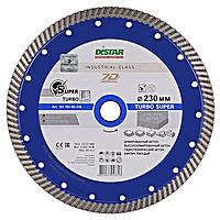 Алмазный отрезной диск по армированному бетону Distar 232мм 22,2мм Turbo Super