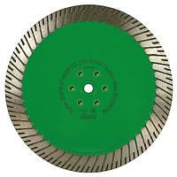 Алмазный диск/фреза по граниту Distar 230мм 22,2мм/M14 Turbo Duplex