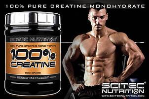 Креатин 100% Scitec Nutrition 500 г, фото 2