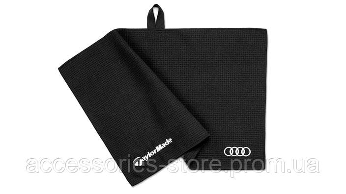 Полотенце для клюшек для гольфа Audi Microtowel, Golf, Black