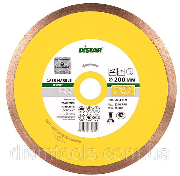 Алмазный диск по мрамору Distar 230мм 25,4мм Marble