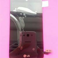 Дисплей для LG D295 L Fino Dual черный с тачскрином