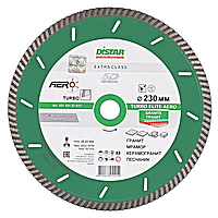 Алмазный диск по граниту Distar 230мм 22,2мм Turbo Elite Aero