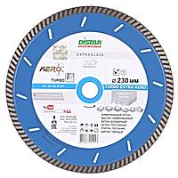 Алмазный диск по бетону Distar 230мм 22,2мм Turbo Extra Aero, фото 1