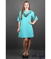 Стильное женское  платье Юлия мята  Olis-Style 46-50 размеры