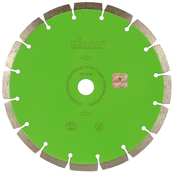 Алмазный диск по граниту Distar 350мм 25,4мм Premier Active