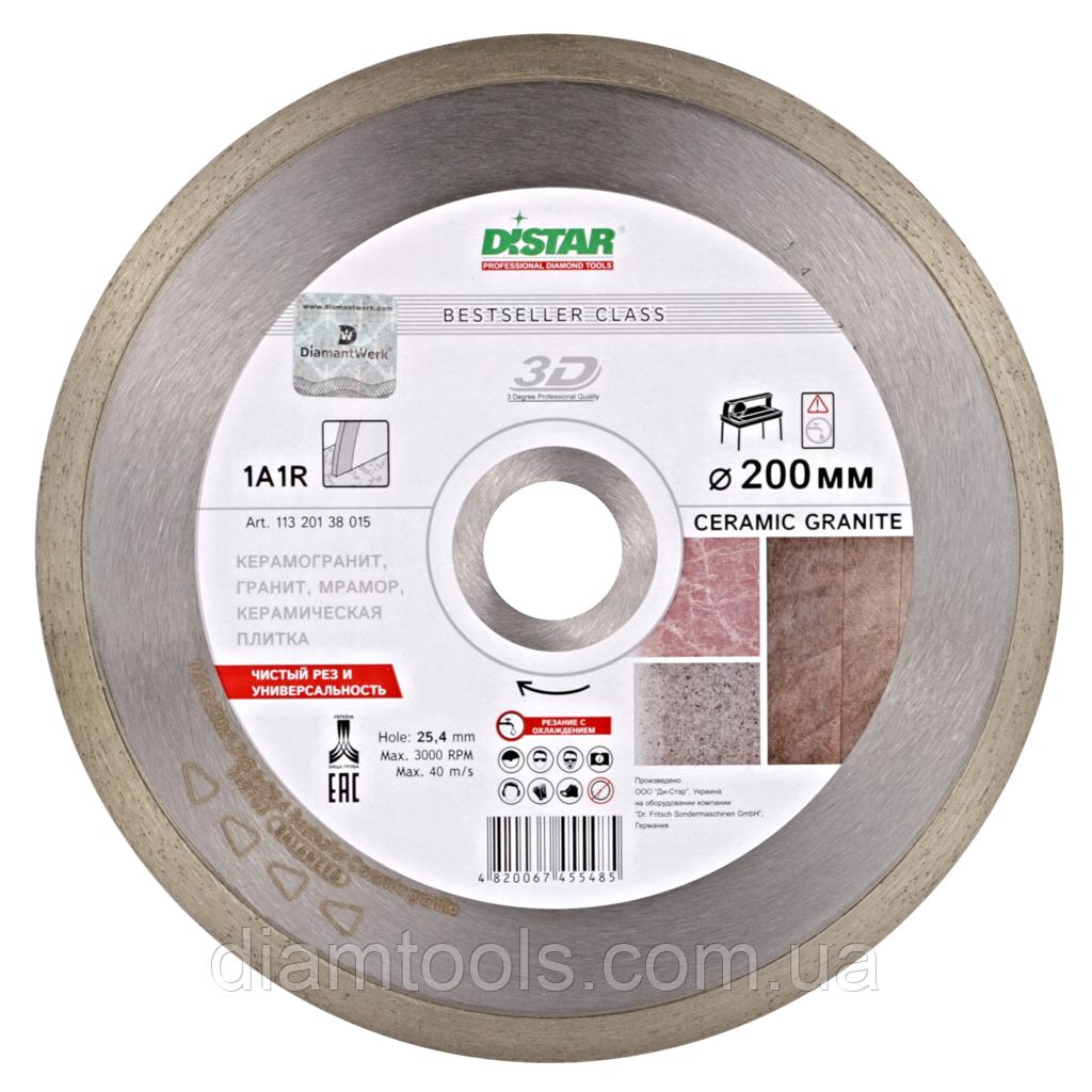 Алмазный диск по керамограниту Distar 200мм 25,4мм Ceramic granite