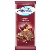 """Шоколад """"Alpinella  Czekolada Peanuts and Raisins"""" (Альпинелла молочный с арахисом и изюмом), Польша"""