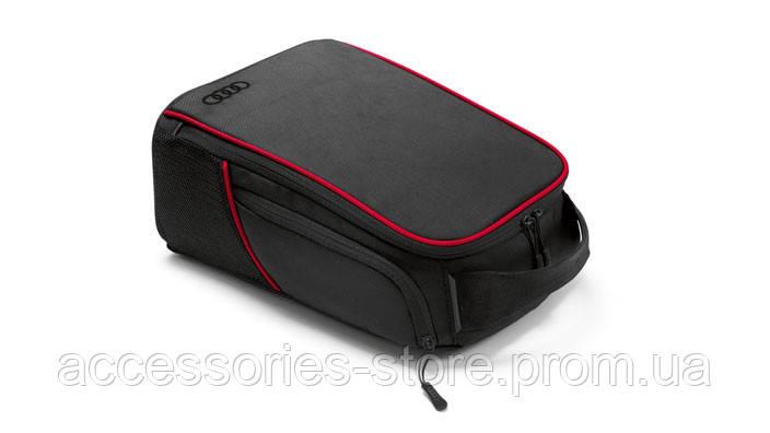 Сумка для обуви Audi Shoebag, Golf, black/red
