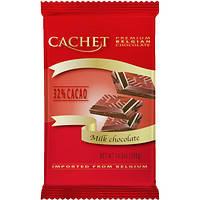 Шоколад Cachet (Кашет) молочный 32% какао Бельгия 300г