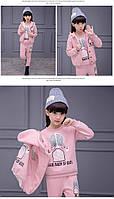 Демисезонный спортивный костюм тройка Pink
