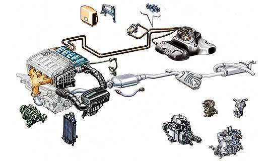 Инжекционная система запитки Fiat Ducato 2002-2006