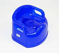 """Горшок детский SL с крышкой (10) - цвет синий """"K-PLAST"""""""