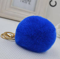 Помпон синий