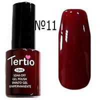 Гель-лак Tertio 10 мл №011   вишня