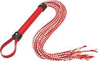 Плеть цвет красный/белый #558