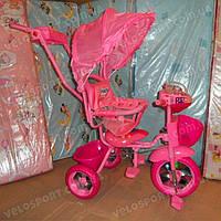 Детский трехколесный велосипед Baby Club Princess Story
