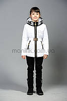 Куртка для девочек с довязом