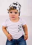 Детская шапка КОСТА для мальчиков оптом размер 44-46-48, фото 2
