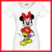 Печать на футболках женских имен фамилий логотипов фотографий