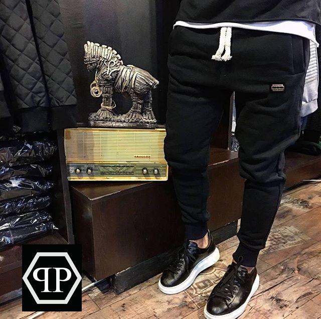 3979d8df993f Штаны мужские Philipp Plein лезвие, модные штаны змейка - MAN BRAND SHOP в  Харькове