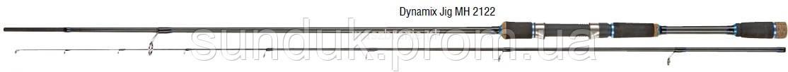 Спиннинг Konger Dynamix Jig MH 248см (8-32гр)