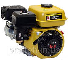 Двигатель бензиновый Forte F-200G  (6,5 л.с., ручной стартер, шпонка Ø19мм, L=58мм) + доставка