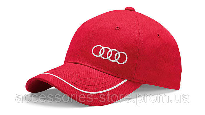 Бейсболка Audi Unisex Baseball cap, red
