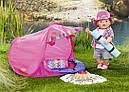 Палатка кемпинг куклы Беби Борн игровой набор Baby Born Zapf Creation 823743, фото 5