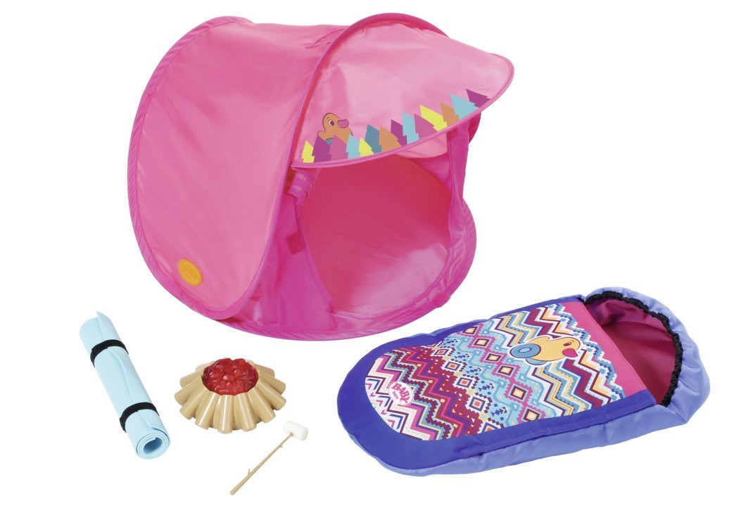 Палатка кемпинг для куклы Беби Борн игровой набор Baby Born Zapf Creation 823743