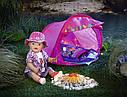 Палатка кемпинг куклы Беби Борн игровой набор Baby Born Zapf Creation 823743, фото 8