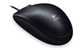 Мышь Logitech B100 (910-003360) Black, фото 2
